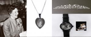 Custom engraved photos