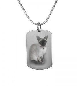 Dog Tag including photo engraving