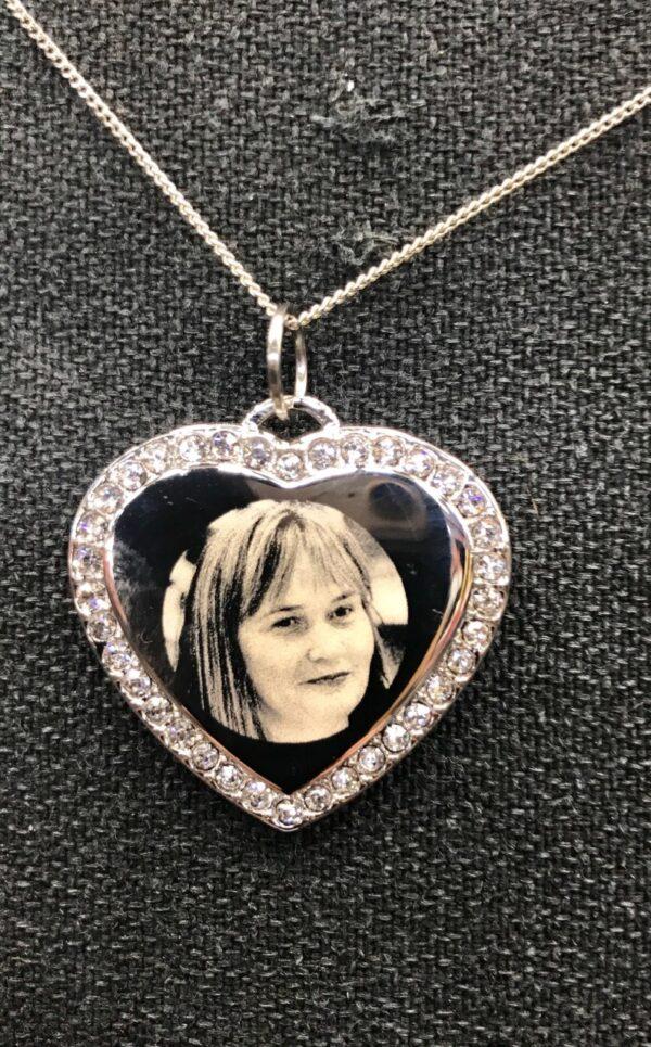 photo engraved jewellery